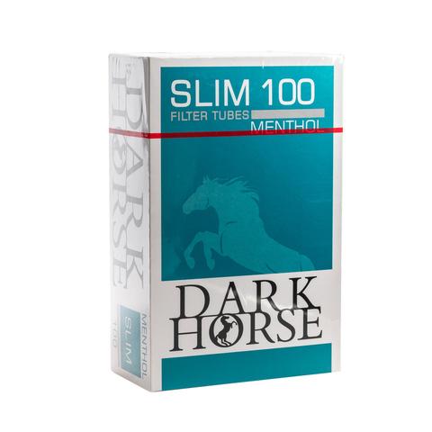 Гильзы сигаретные DarkHorse Slim Long Menthol 100 шт