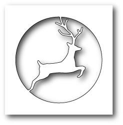 Ножи для вырубки Reindeer Circle craft die