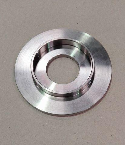 12614 Пластина от молочного насоса, нержавеющая сталь, способ изготовления - листовой прокат