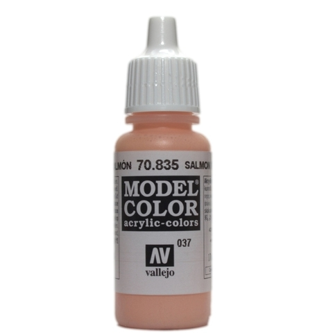 Model Color Salmon Rose 17 ml.