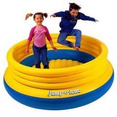 Intex Детский игровой надувной центр-батут, 203*69 см (6406)