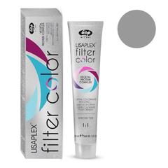 Оттенок прохладная тень металлик Крем-краситель для волос Lisaplex Filter Color 100мл