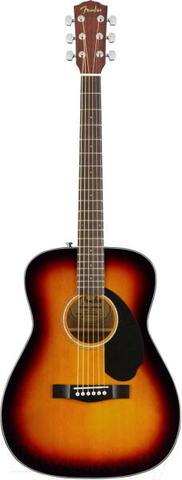 FENDER CC-60S CONCERT SUNBURST WN акустическая гитара