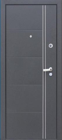 Дверь входная Ferrum венге стальная, венге, 2 замка, фабрика Сибирский Стандарт
