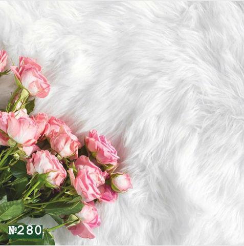 Фотофон виниловый «Розовые розы» №280