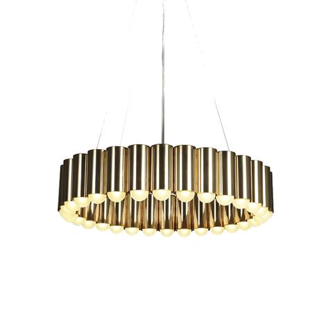 Подвесной светильник копия CAROUSEL by Lee Broom (золотой)
