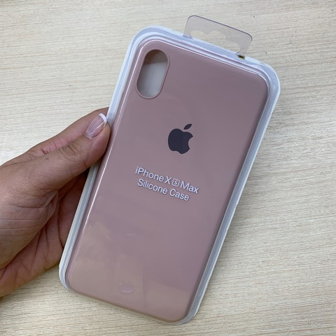 Чехол iPhone XS Max Silicone Slim Case /pink sand/