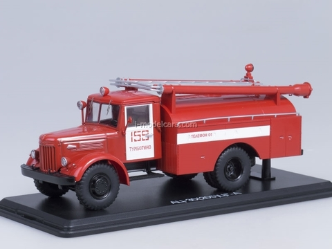 MAZ-205 AC-30  fire engine Tumbotino Start Scale Models (SSM) 1:43