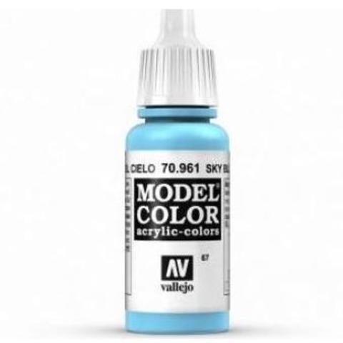 Model Color Sky Blue 17 ml.