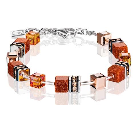 Браслет Coeur de Lion 4015/30-1127 цвет оранжевый