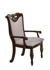 """Кресло """"Гелиос (GELIOS)"""" с мягким сиденьем и спинкой —  Light Walnut (Темный орех) (MK-4524-LW)"""
