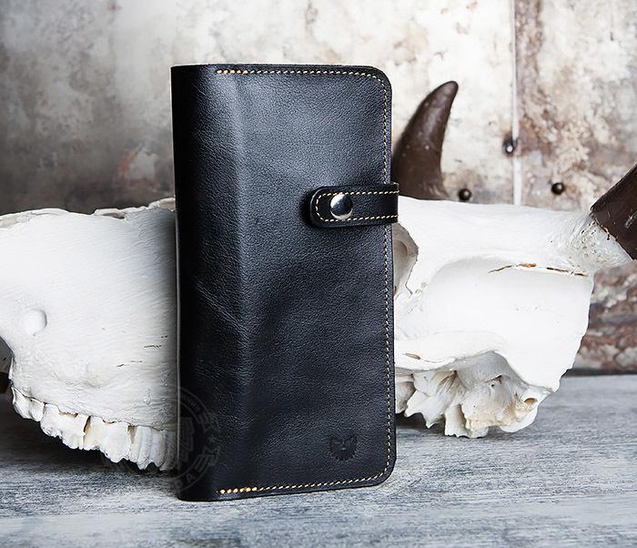 WB111-6 Портмоне ручной работы из натуральной кожи. «Boroda Design»