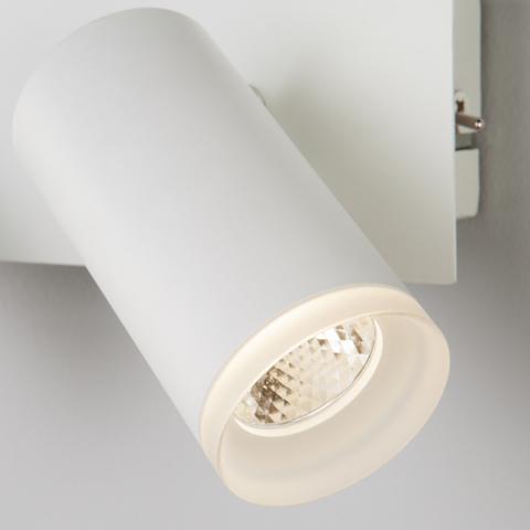 Настенный светодиодный светильник с поворотными плафонами 20067/2 LED белый