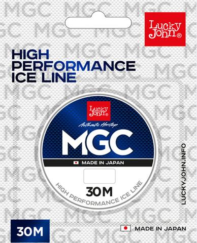 Леска монофильная LUCKY JOHN MGC, зимняя, 30 м - 0.18 мм, прозрачная