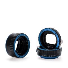 Автофокусные макрокольца для Canon (BLUE)