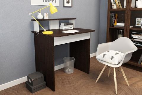 Стол письменный венге/лоредо