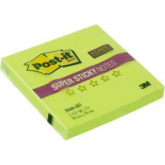 Стикеры Post-it Super Sticky 654R-SG, 76х76 зеленый,90л.