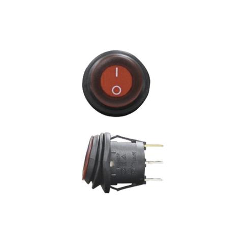 Выключатель двухпозиционный влагозащищённый с индикатором ALO-AK2  фото-1