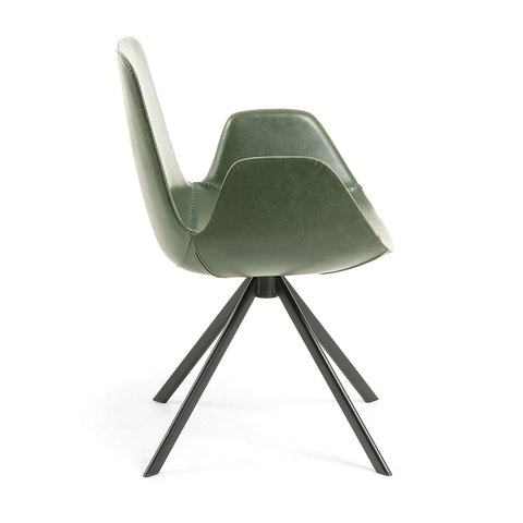 Кресло YASMIN зеленое CC0827U06