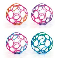 Oball Мячик полупрозрачный 10 см, цвета в ассортименте (81005)