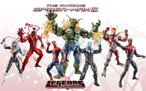 Marvel Legends Infinite — The Amazing Spider-Man 2