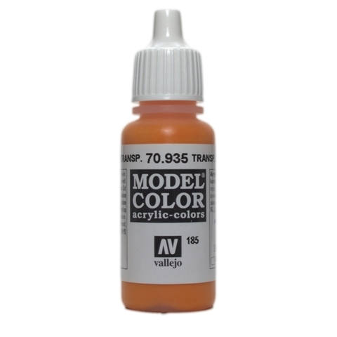 Model Color Transparent Orange 17 ml.