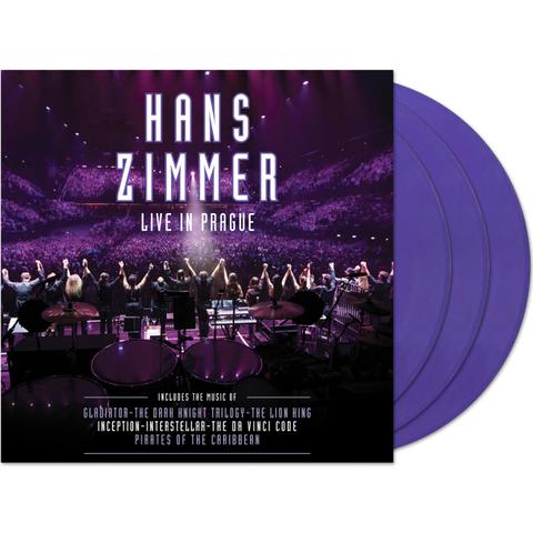 Hans Zimmer / Live In Prague (Coloured Vinyl)(4LP)