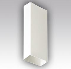 Воздуховод прямоугольный 110х55 1,5 м пластиковый