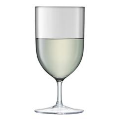 Набор из 2 бокалов для воды и вина «Hint», 400 мл серый, фото 2