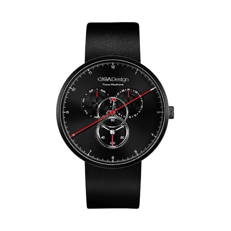 Часы Xiaomi CIGA Time Machine Three Gear Design (Black)