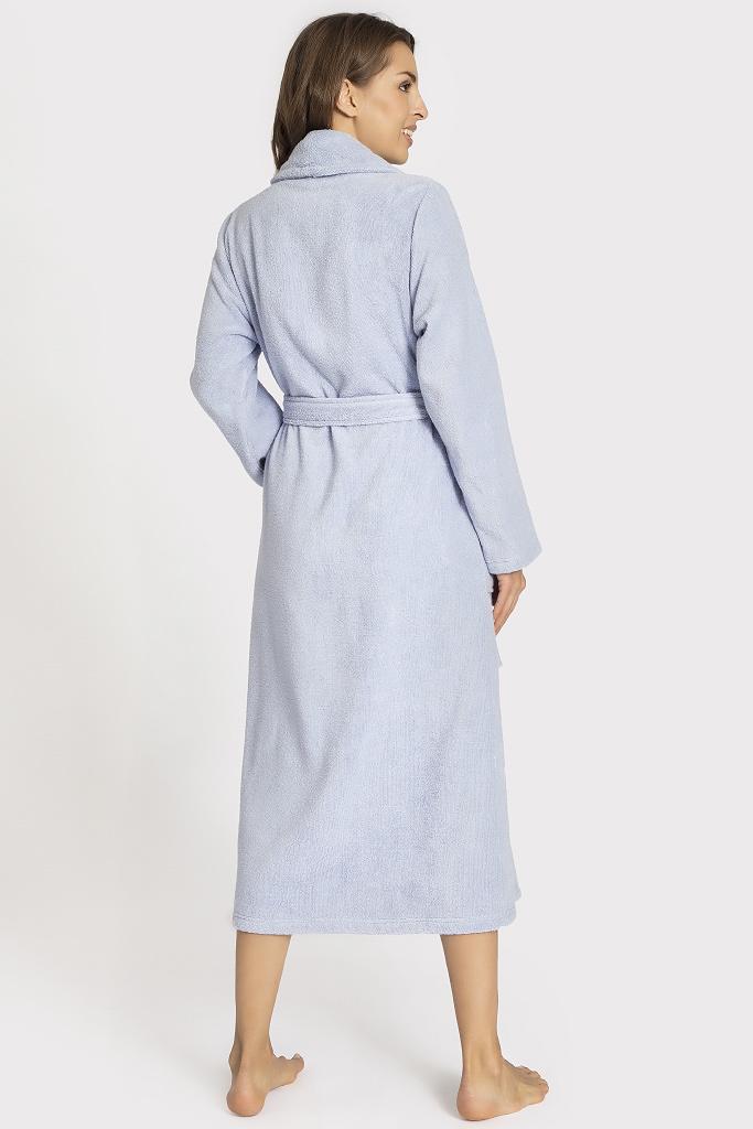 Длинный махровый халат Taubert
