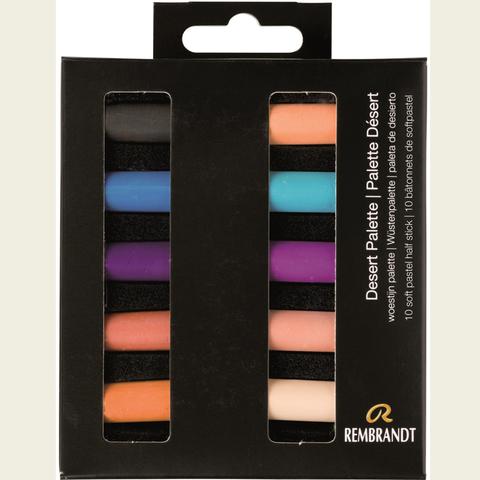 Набор сухой пастели Rembrandt 10цв цвета пустыни картон.упак