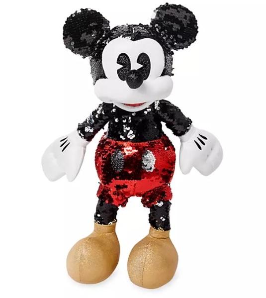 Коллекционная мягкая игрушка Микки Маус с пайетками Disney Original