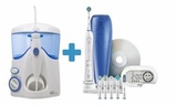 Waterpik WP-100 E2 Ultra + Oral-B Pro 6000