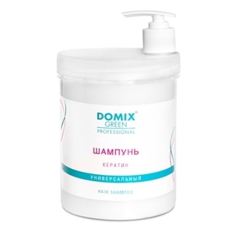 Шампунь Кератин, Domix 1000 ml.