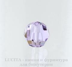 5000 Бусина - шарик с огранкой Сваровски Violet 8 мм