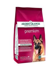 Arden Grange Adult Premium сухой корм для собак с Курицей 2 кг