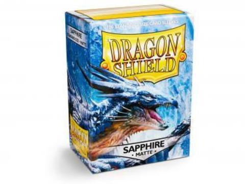 Протекторы Dragon Shield матовые сапфировые (100 шт.)