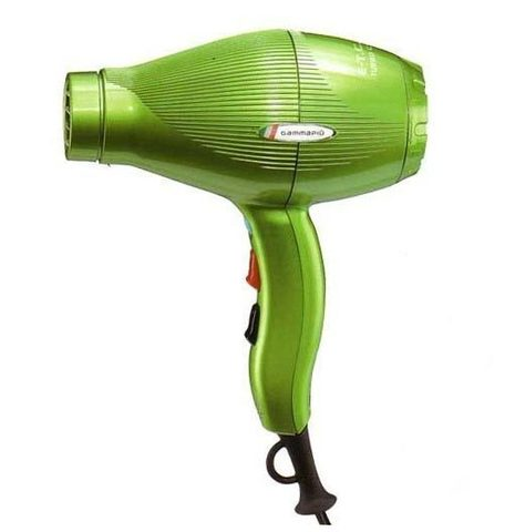 Фен для волос Gamma Piu E-T-C Light 2100 Вт зеленый