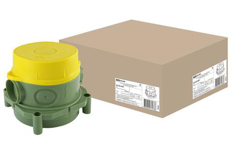 Установочная коробка СП 82х80х79,5мм, для заливки в бетон, TDM