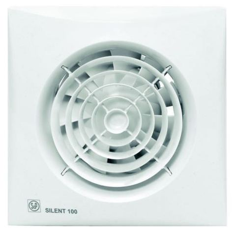 Накладной вентилятор Soler & Palau SILENT-100 CRZ (таймер)