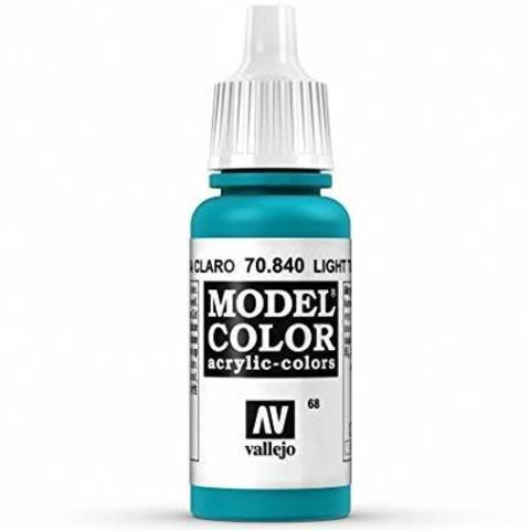 Model Color Turquoise 17 ml.