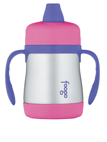 Поильник с ручками Thermos Foogo Phases №1 BS500 (0,2 литра), розовый