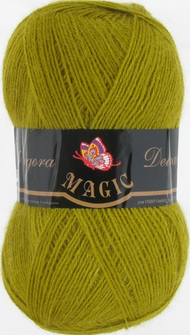 Пряжа Angora Delicate Magic 1110 Оливково-зеленый - купить в интернет-магазине недорого klubokshop.ru