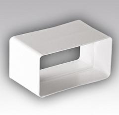 Соединитель-муфта 110х55 мм пластиковый