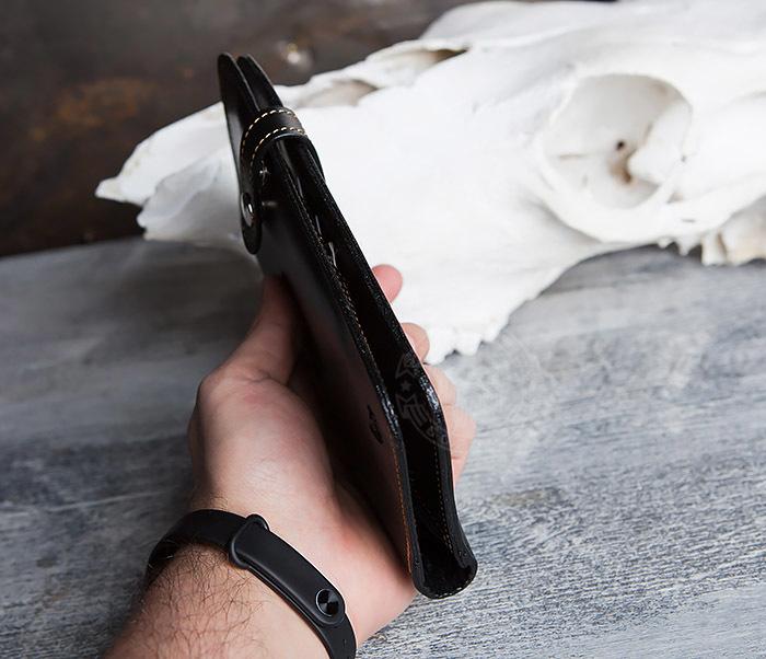 WB111-6 Портмоне ручной работы из натуральной кожи. «Boroda Design» фото 10