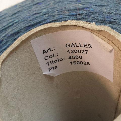 Твид GALLES 450 синий джинс