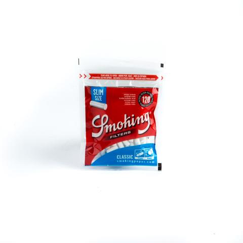 Фильтры для самокруток SMOKING SLIM CLASSIC 120 шт