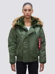 Парка Alpha Industries N-2B Green (Зеленая)