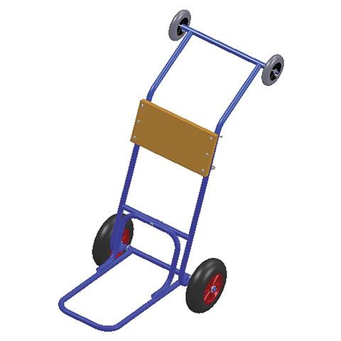 Тележка для ПЛМ с дополнительными колесами